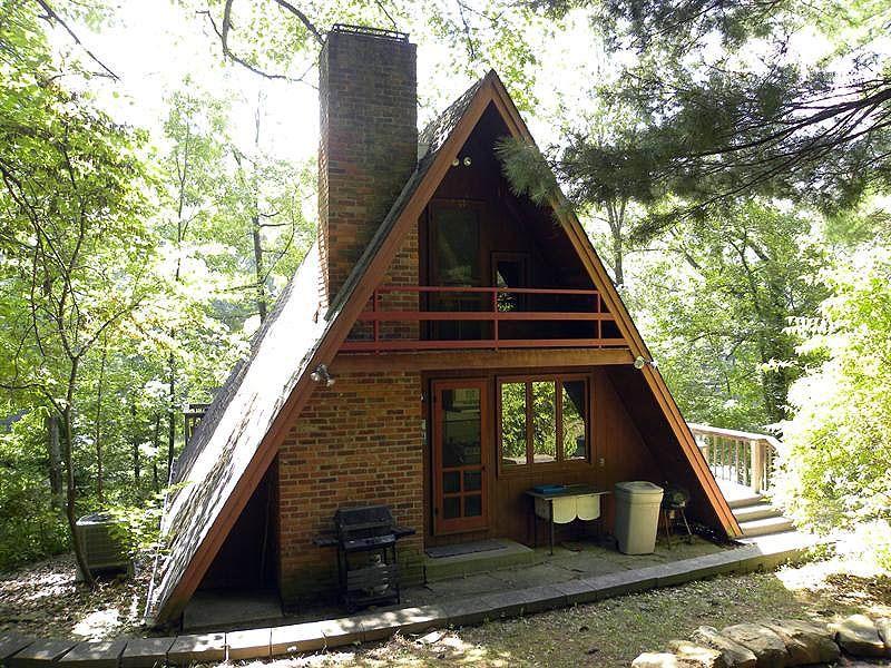 Дачный домик треугольник своими руками фото не дорогой