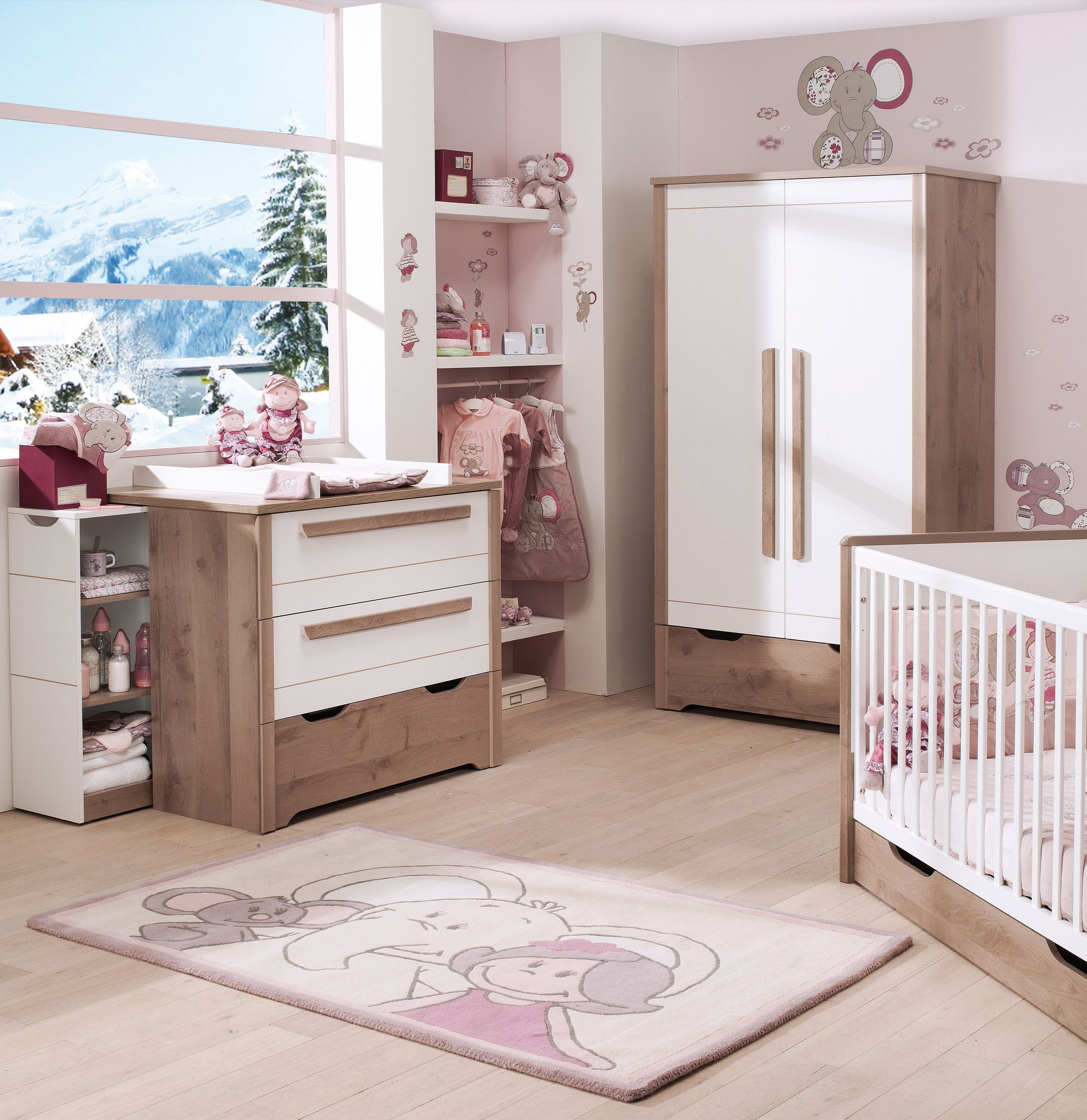 chambre bebe lune pr l vement d. Black Bedroom Furniture Sets. Home Design Ideas