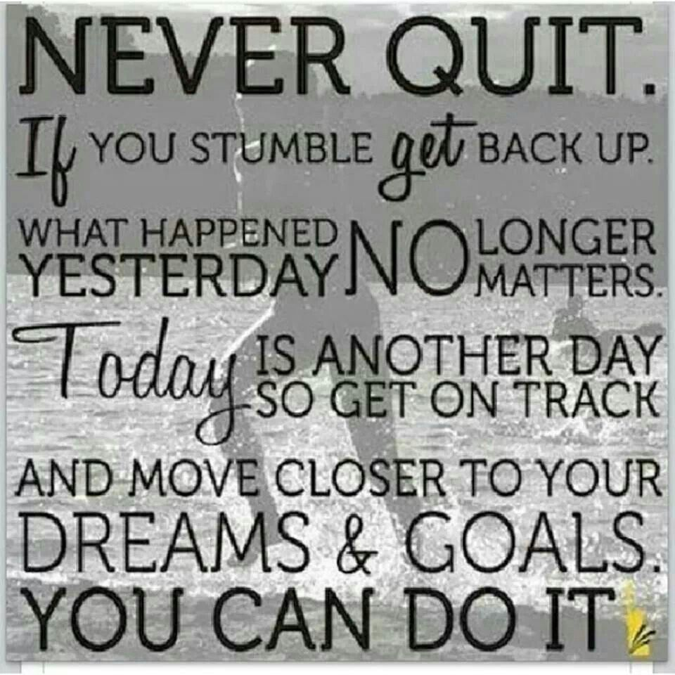 never quit quotes inspirational messages pinterest