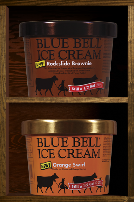 New blue bell ice cream flavors for july yummy foods for Christmas cookie ice cream blue bell
