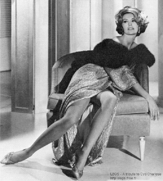 Cyd Charisse Uploaded By Standndtimearound Etsy