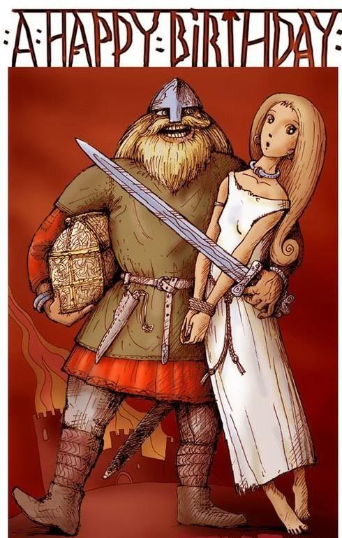 Поздравления викингов с днем рождения 77