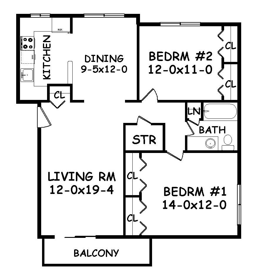 The Layout Of The Apartment : Apartment Layout