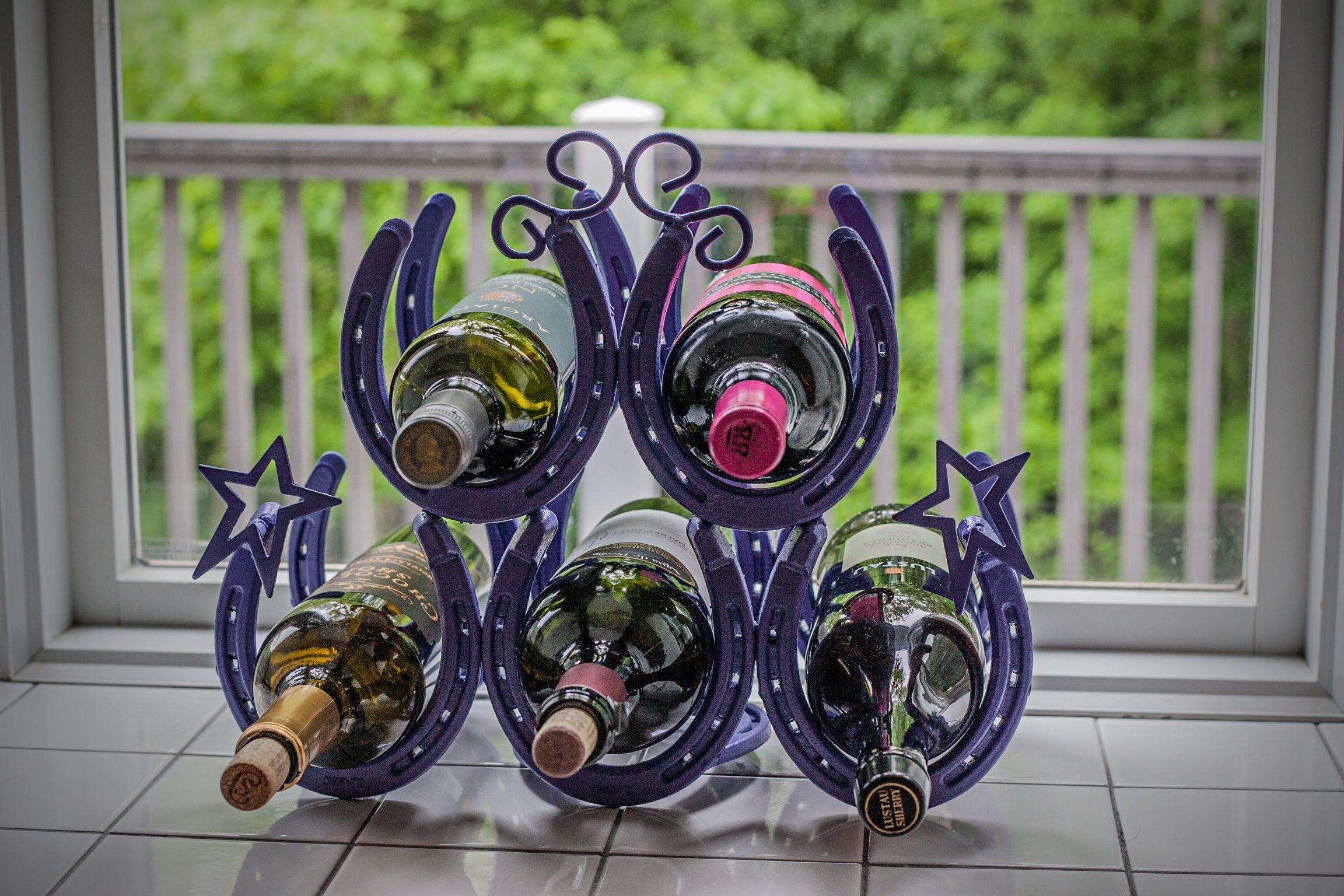Homemade wine rack crafty ideas pinterest for Easy homemade wine rack
