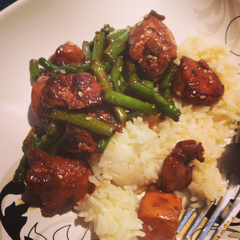 Chicken and Asparagus Stir Fry | Yumm yumm | Pinterest