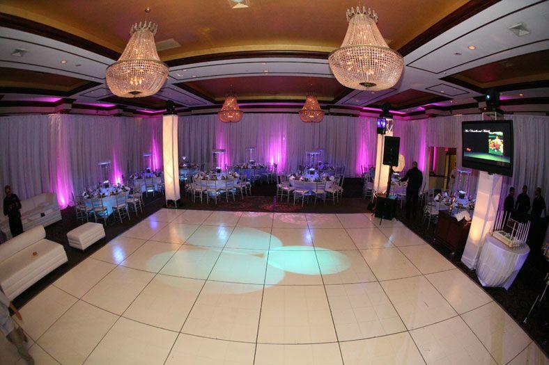 White Dance Floor Wedding Decor Pinterest