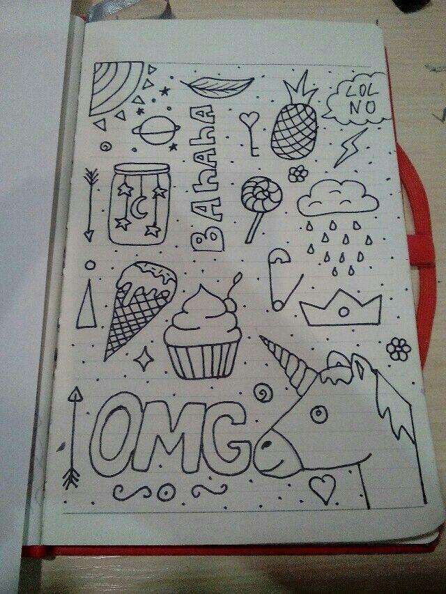 Рисунки для личного дневника скетчбук