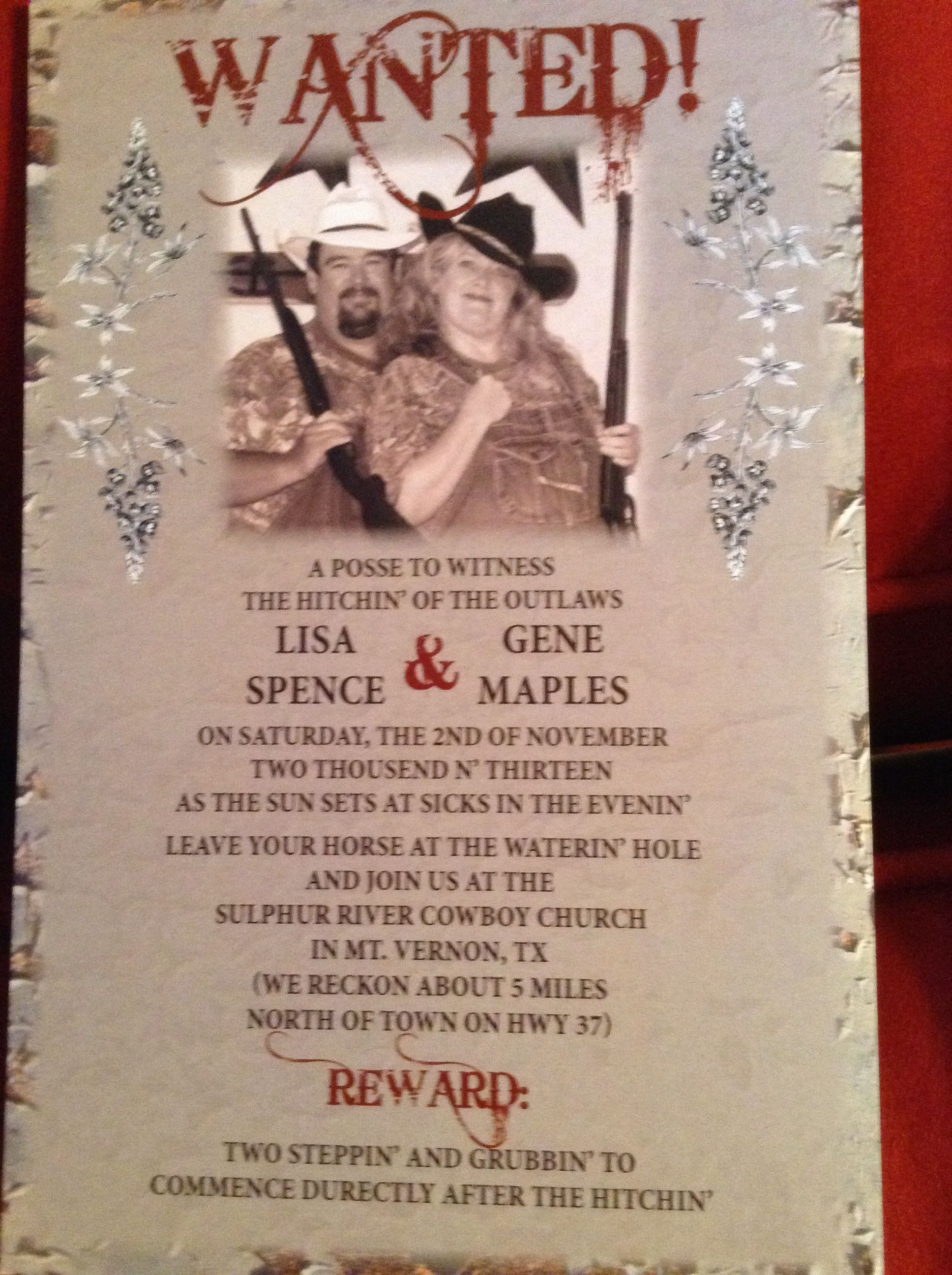 Redneck Wedding Invitations is one of our best ideas you might choose for invitation design
