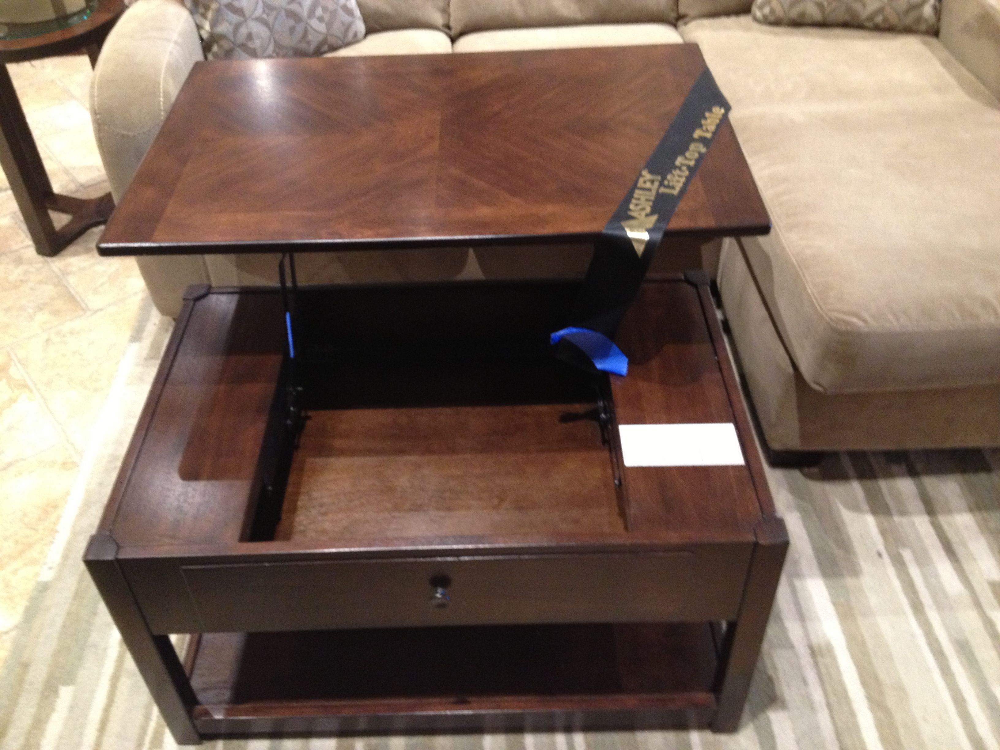 Ashley 39 S Computer Coffee Table House Into A Home Pinterest