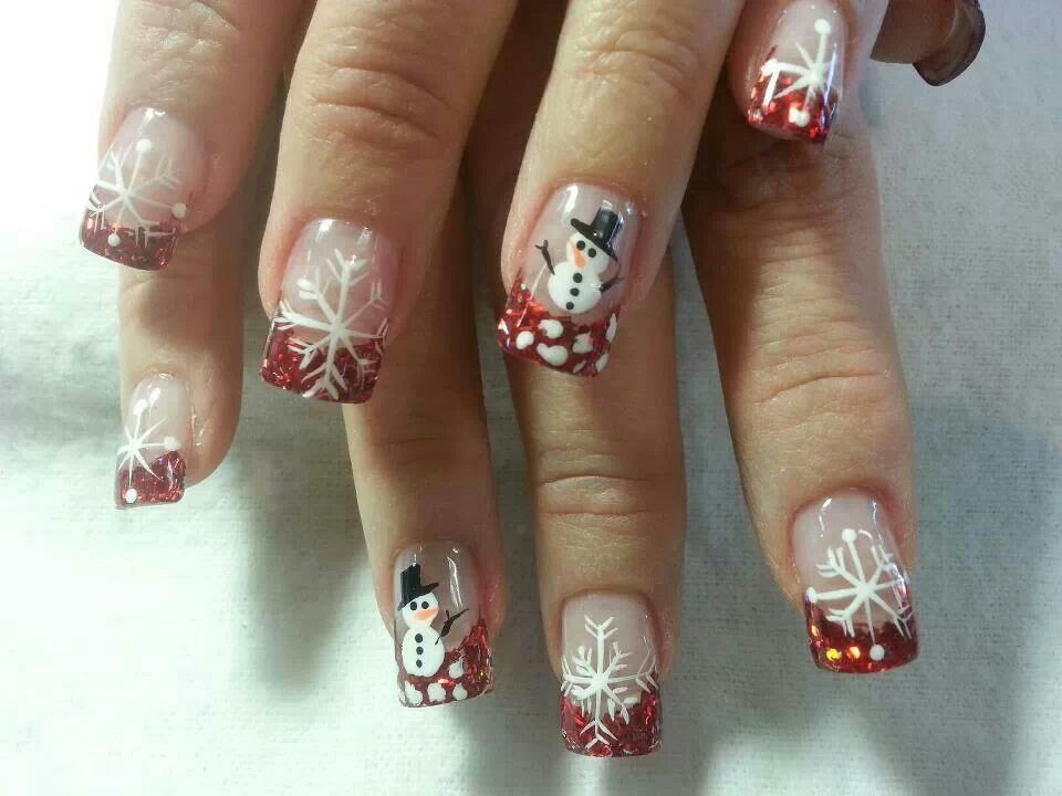 Winter look | Cute nail designs | Pinterest