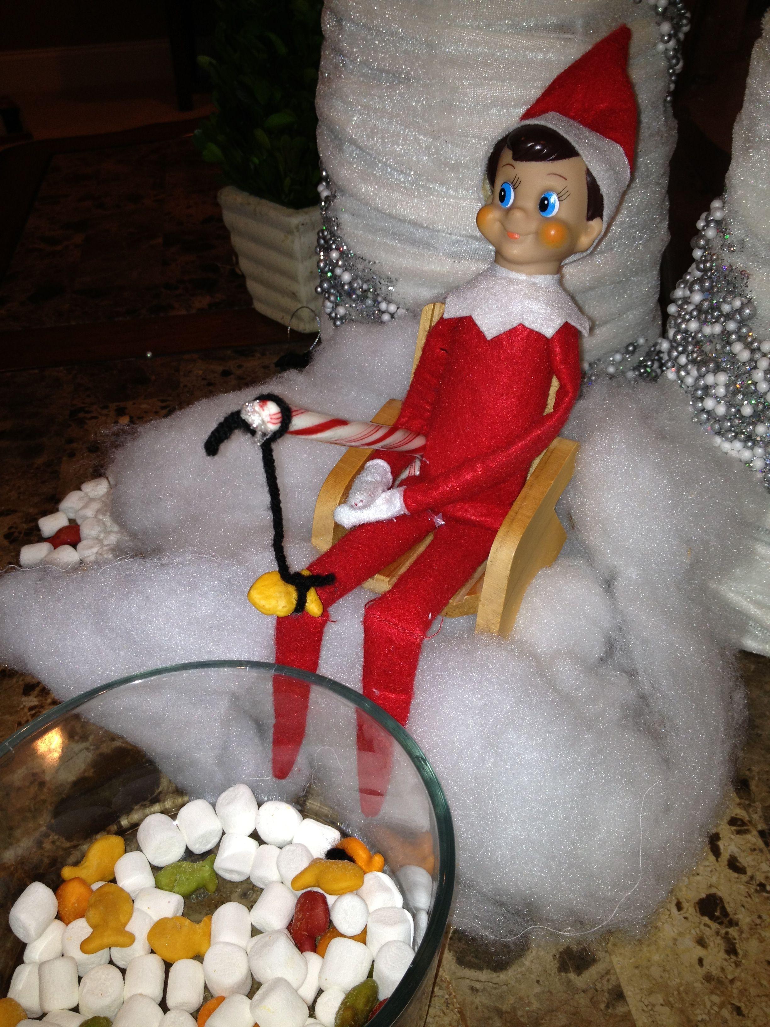 Elf on the shelf   christmas   Pinterest
