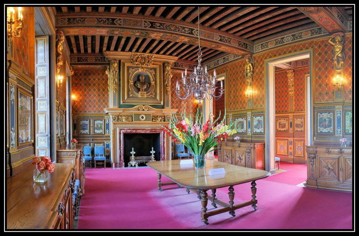 Chateau de cheverny french renaissance pinterest for Chateau chenonceau interieur