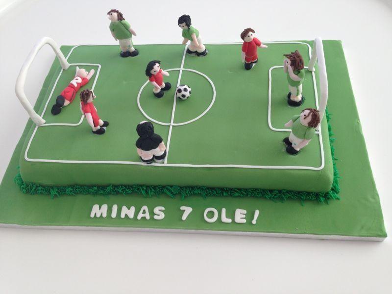 soccer field cakes ideas