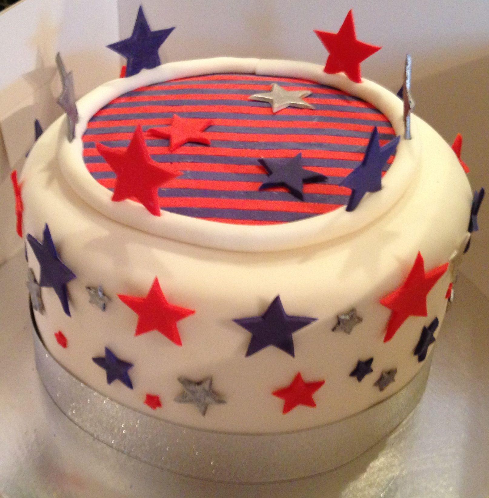 america theme cakes