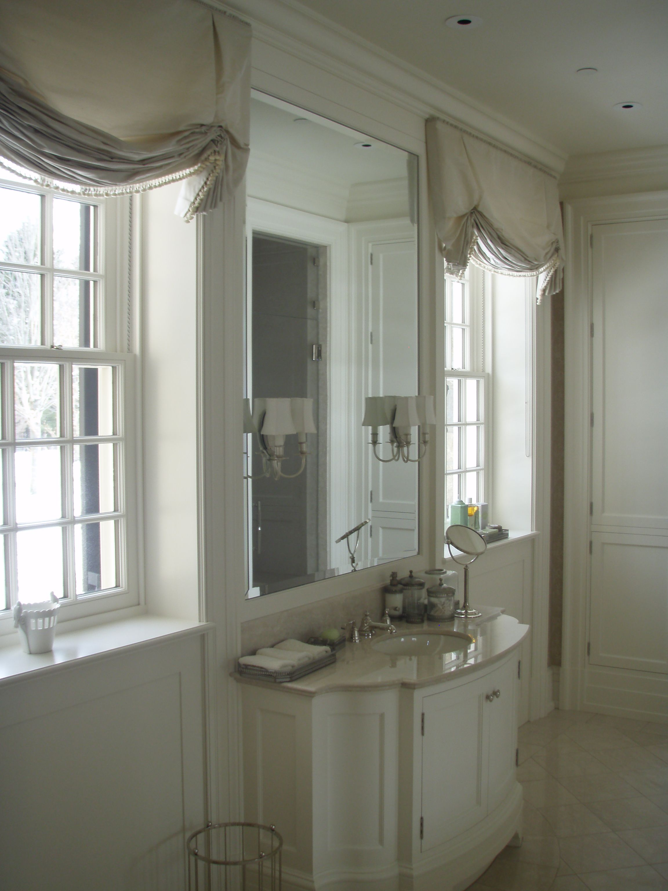 Soft Roman Shade Bathrooms Pinterest