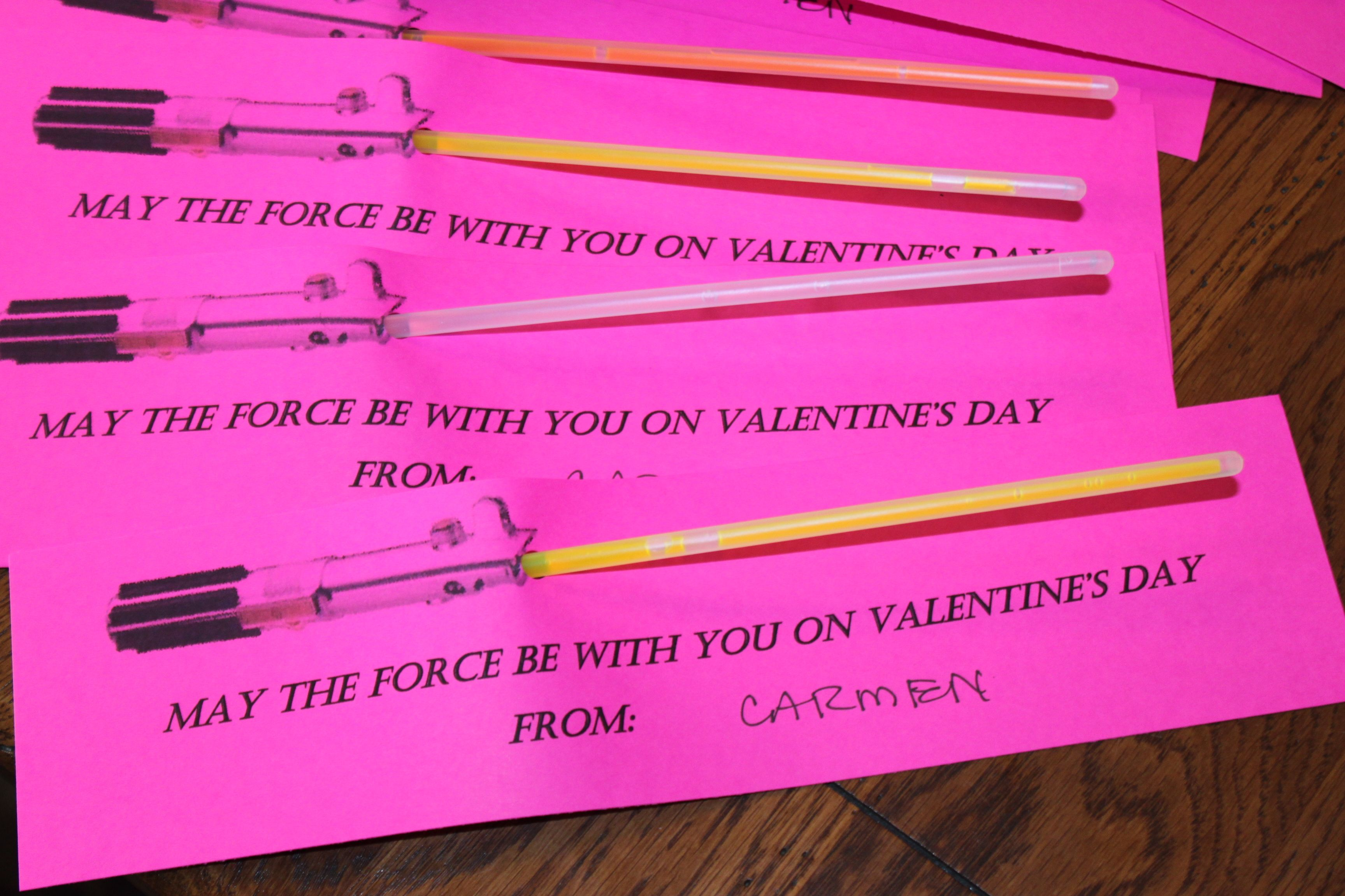 lego star wars valentines day cards
