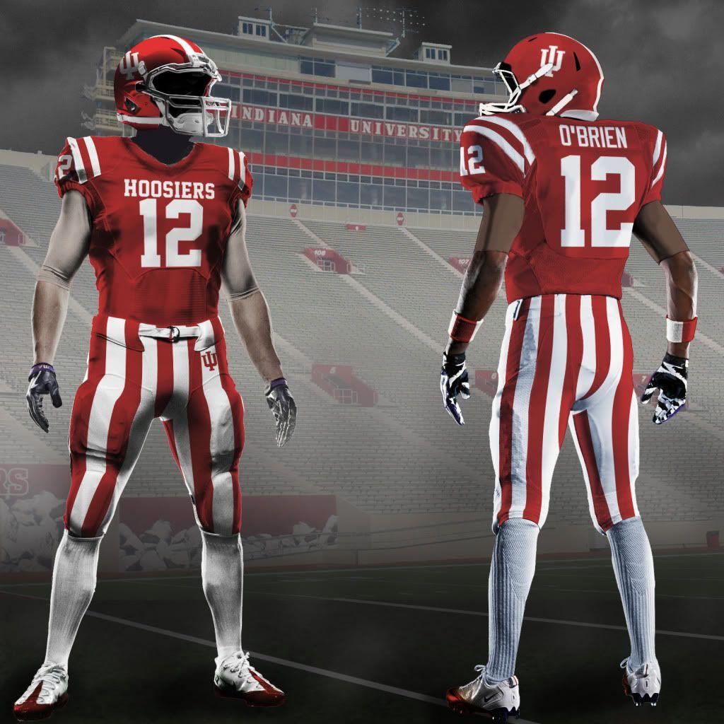 Indiana University Concept Uniforms No Yes No Pinterest