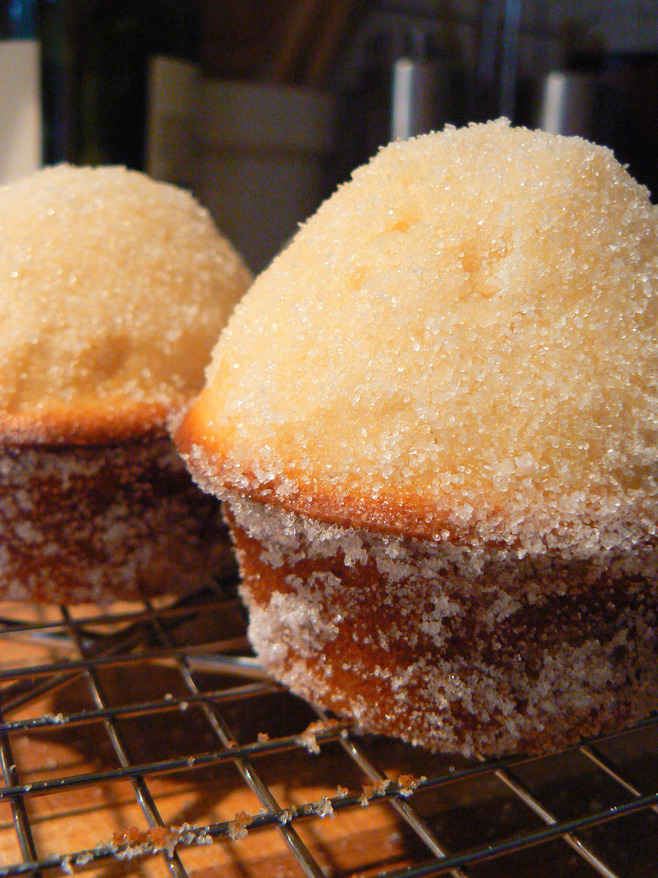 sugar donut muffins | Food | Pinterest