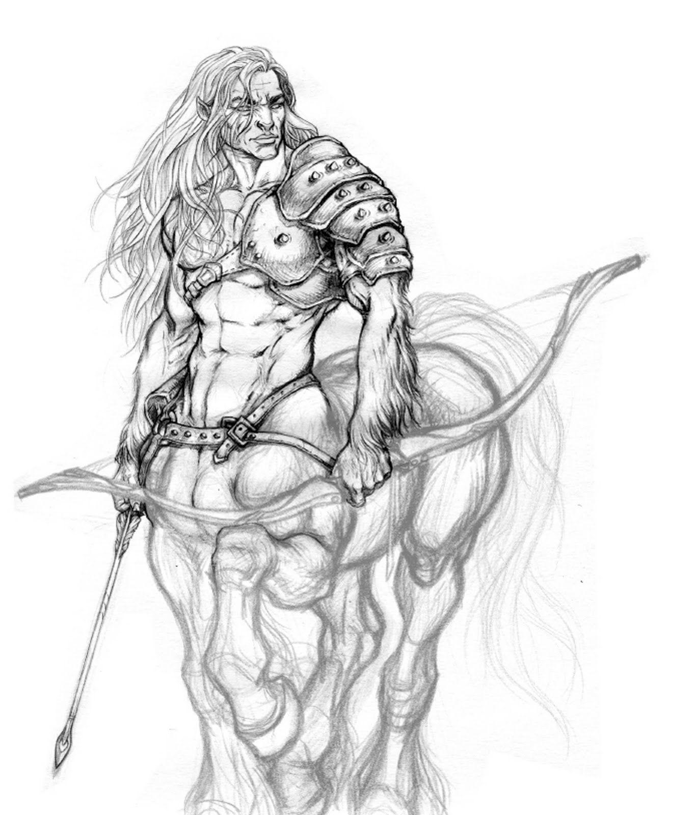 Centaura naked erotica pic