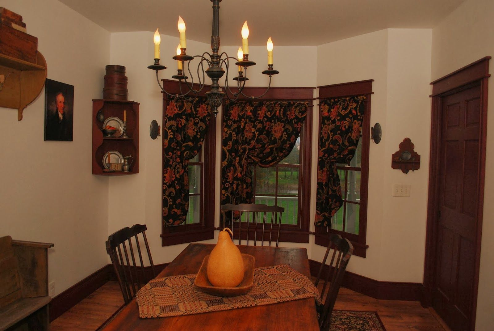 http://greyhousesamplers.blogspot.com/ | Colonial Decor | Pinterest