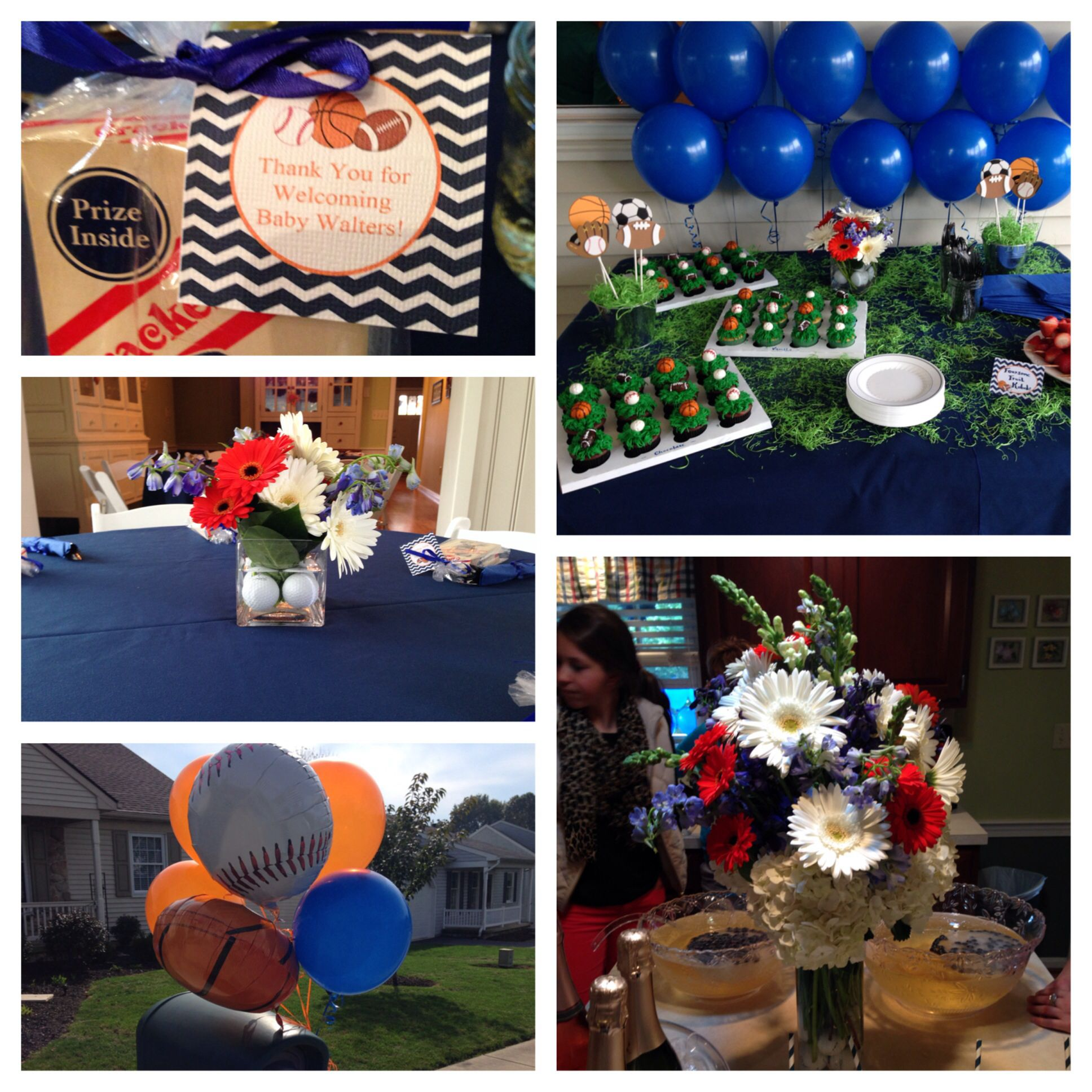 sports themed baby shower baby shower ideas pinterest