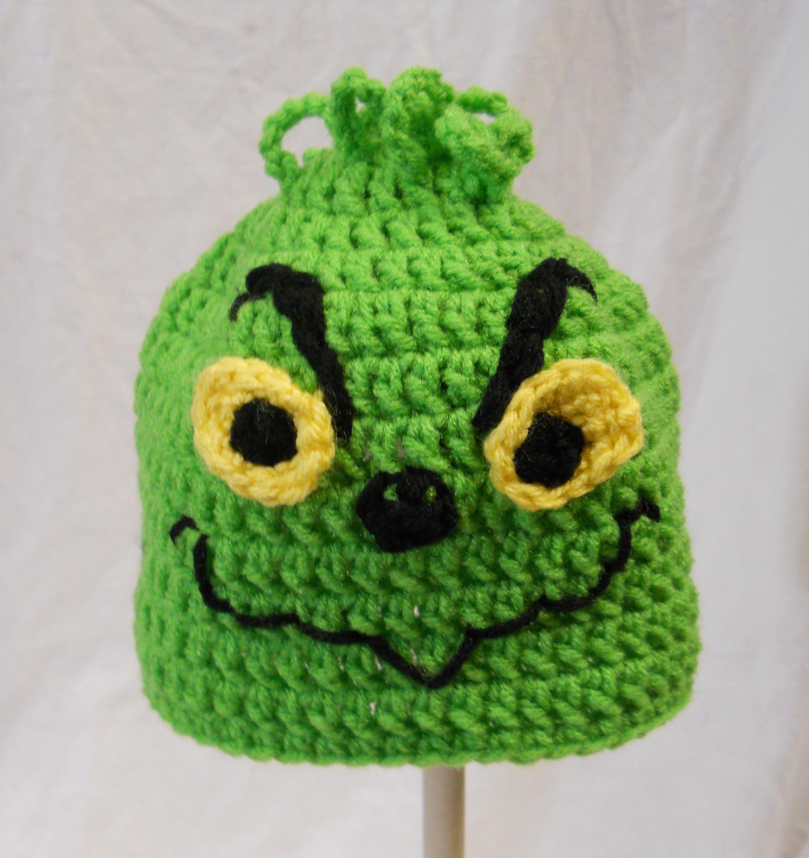 Crochet Grinch Hat Crochet Things I Have Made Pinterest