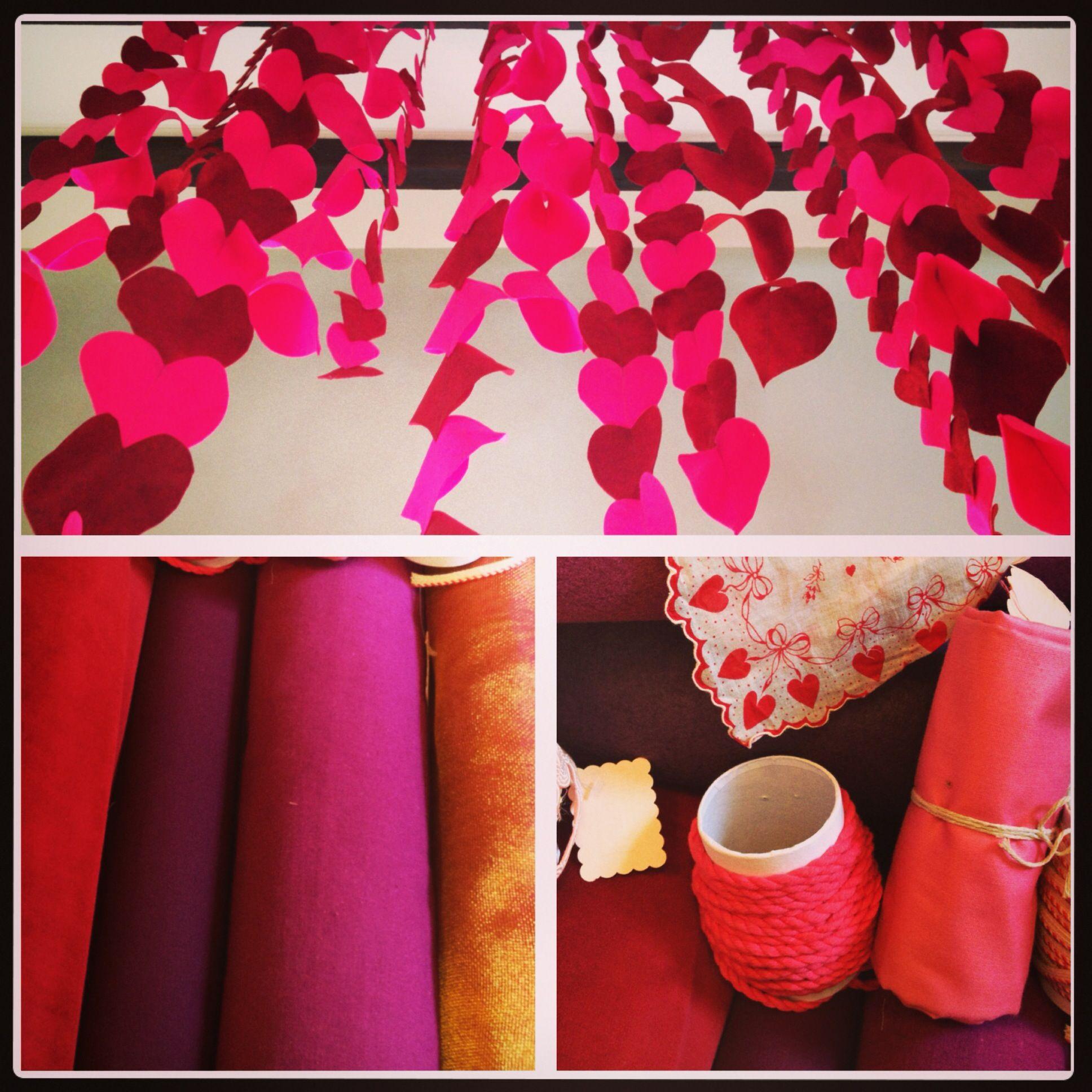 Valentine Decor Measure A Fabric Parlor Pinterest