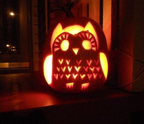 Pumpkin carving ideas owl kenzie s style pinterest