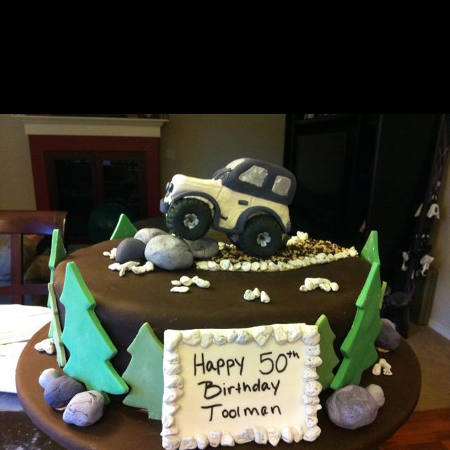 Jeep Birthday Cake Images : My Jeep Birthday Cake Ideas and Designs