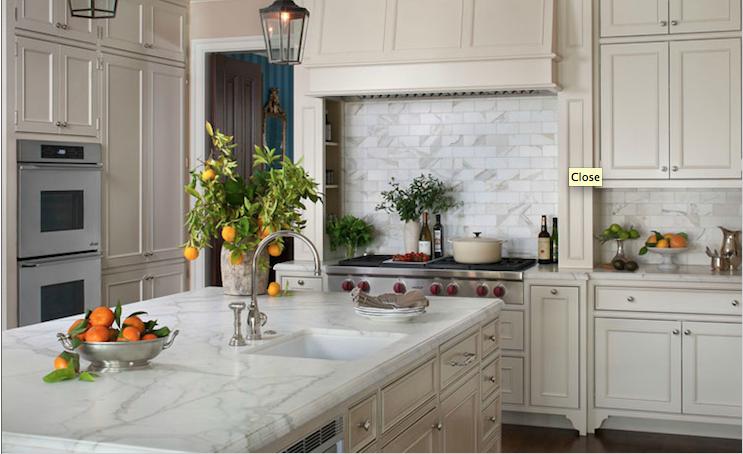 Non white cabinets kitchen pinterest for White kitchen cabinets pinterest