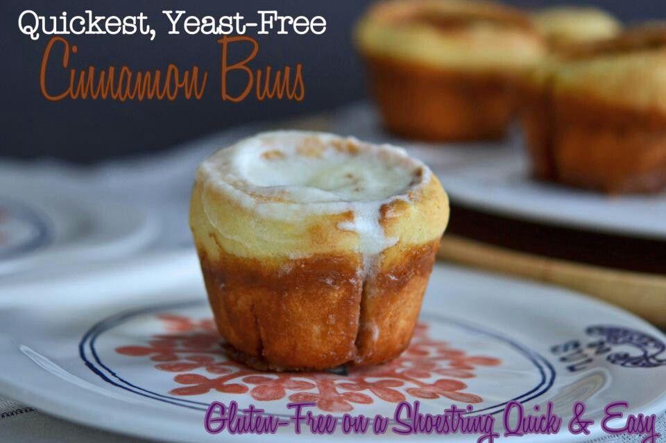 GF cinnamon buns | Gluten Free | Pinterest