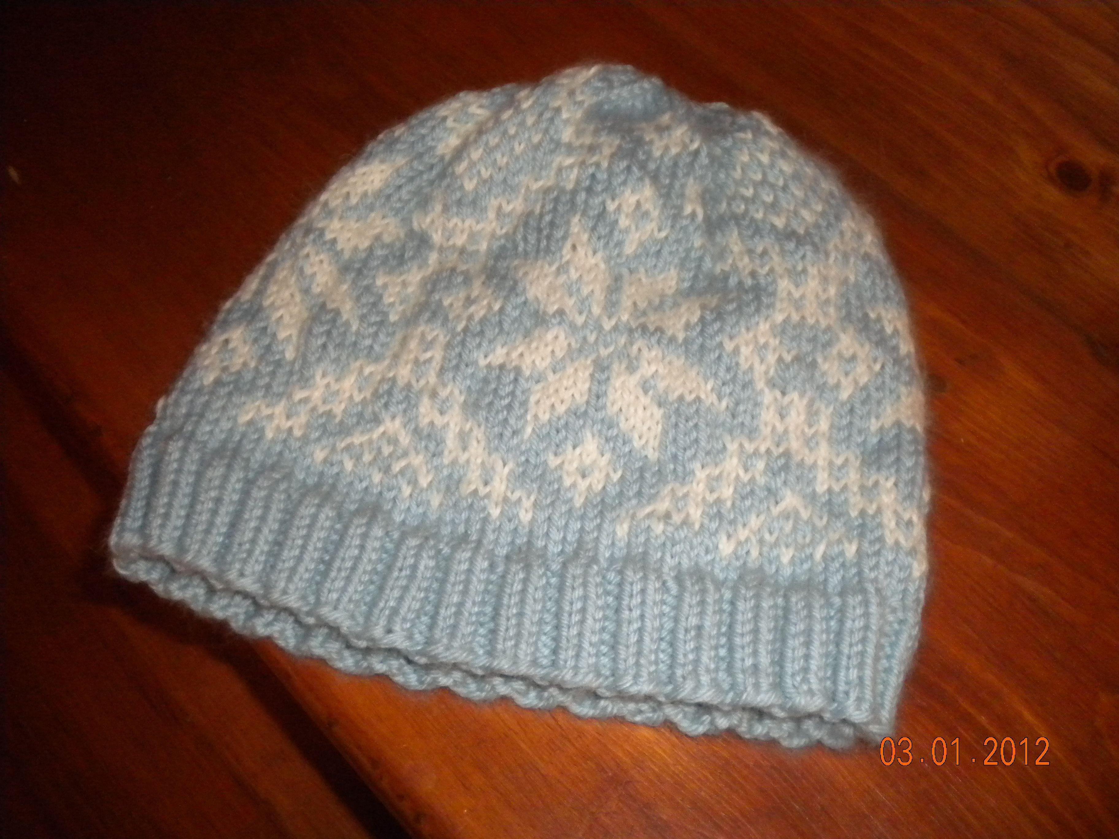 Knitting Pattern For Norwegian Hat : My 2nd Norwegian knit hat. Norwegian Knitting Pinterest