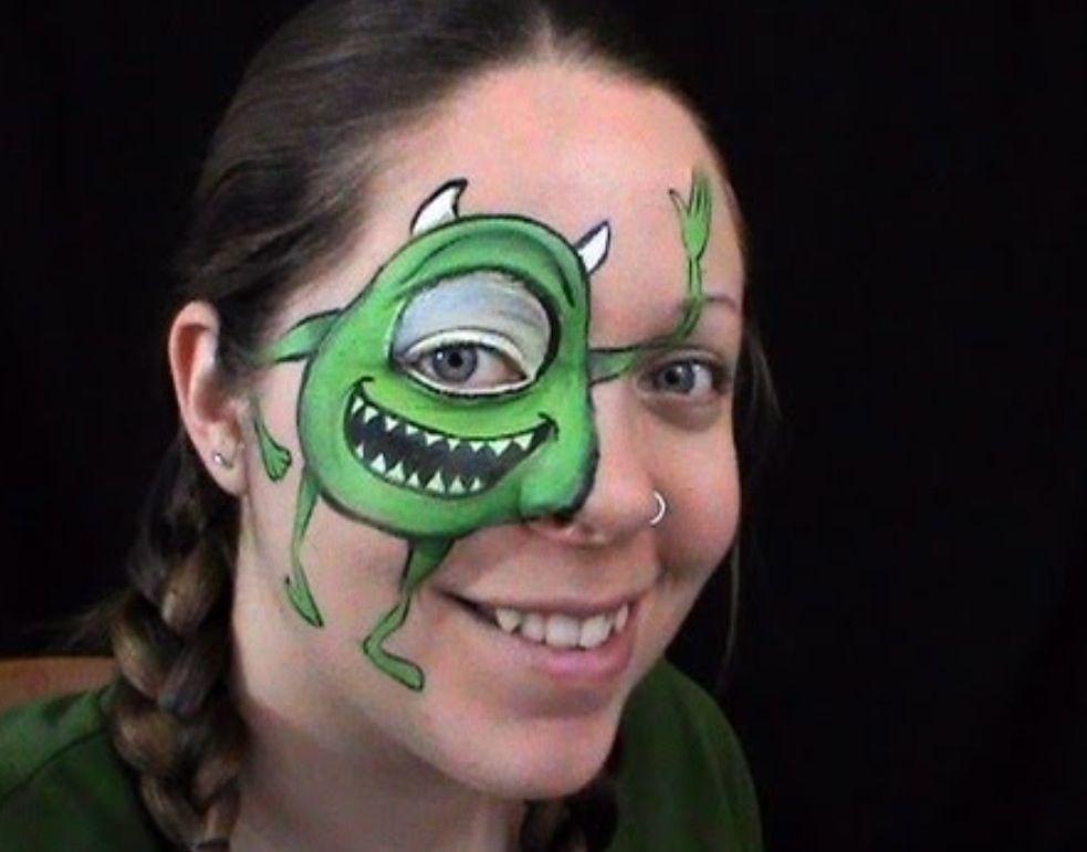 halloween monsters makeup