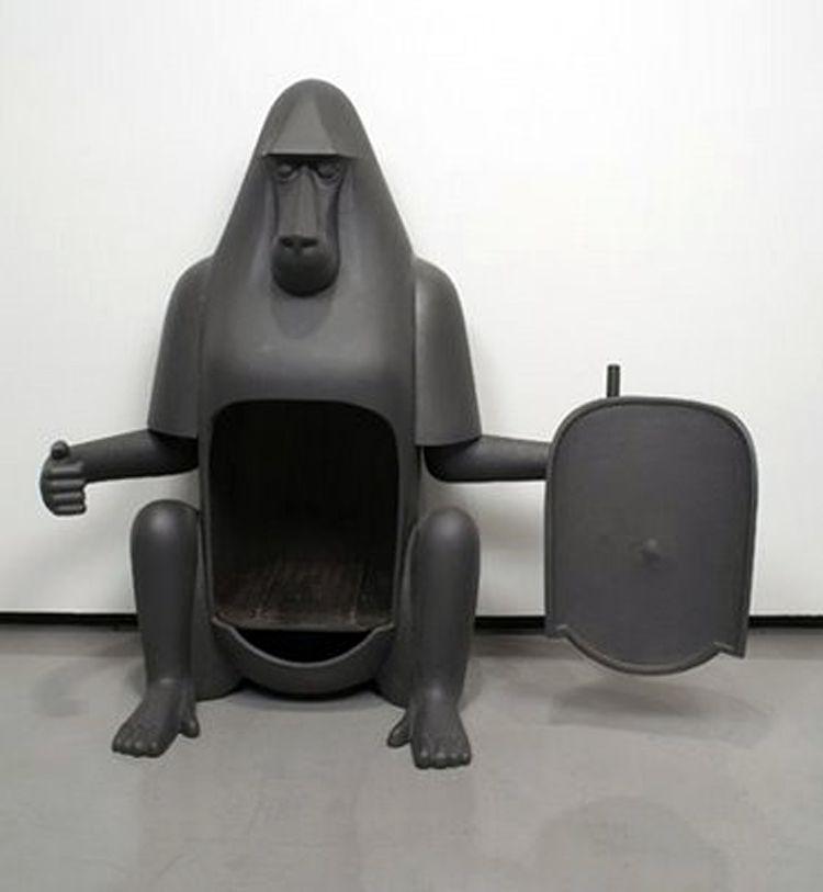Pot Belly Stove : Gorilla pot belly stove LOL Too cute  Live Love Laugh  Pinterest