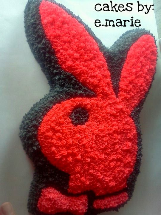 Playboy Cake Design : playboy bunny cake Cake Decorating Pinterest