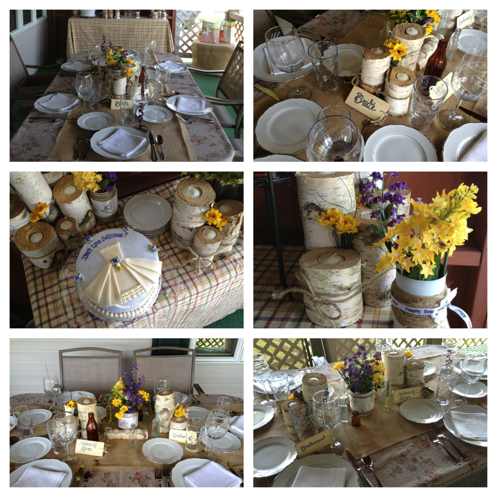 Country chic bridal shower party ideas pinterest for Country chic ideas