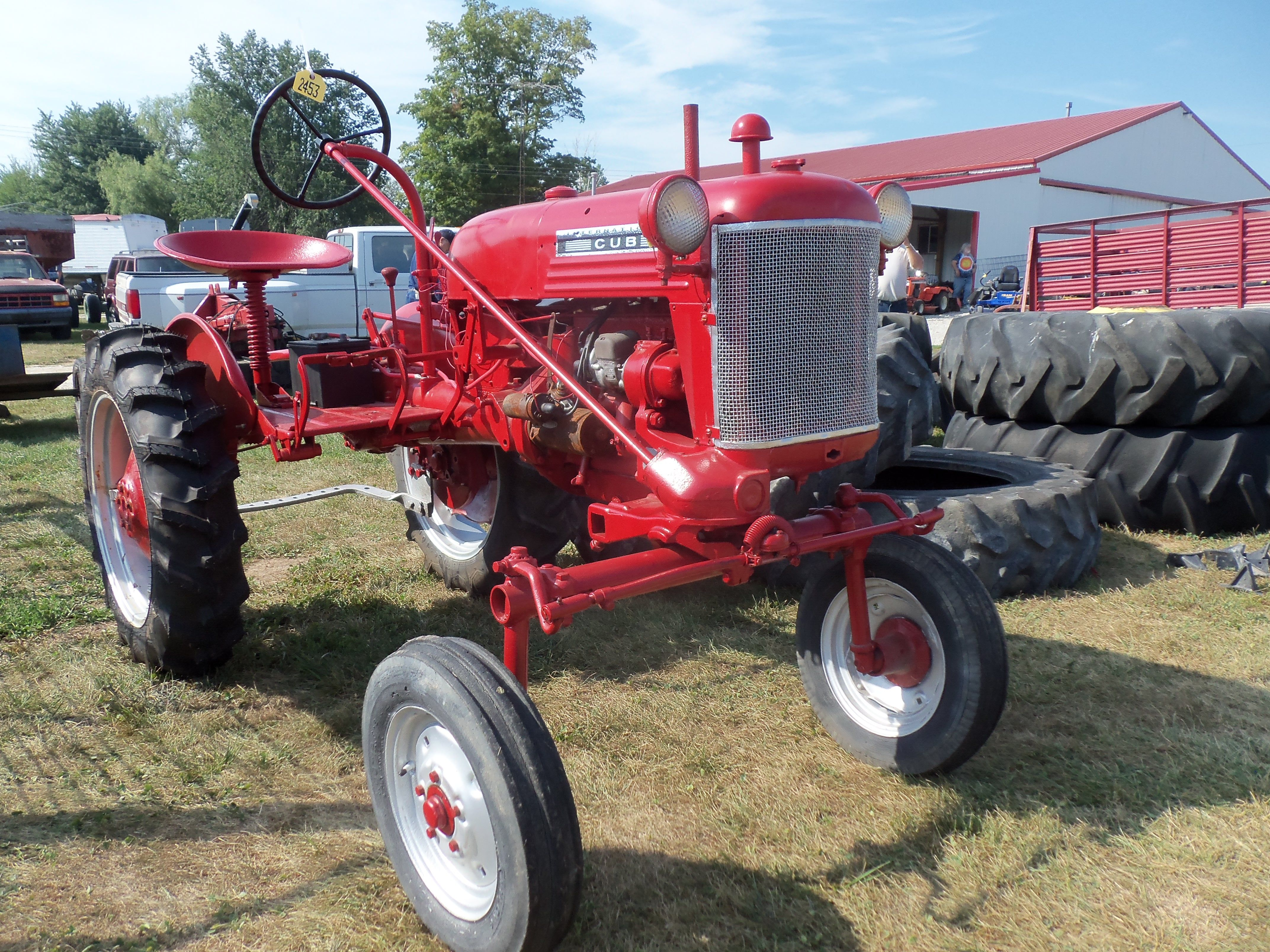 1949 farmall cub tractor with implements tractor parts