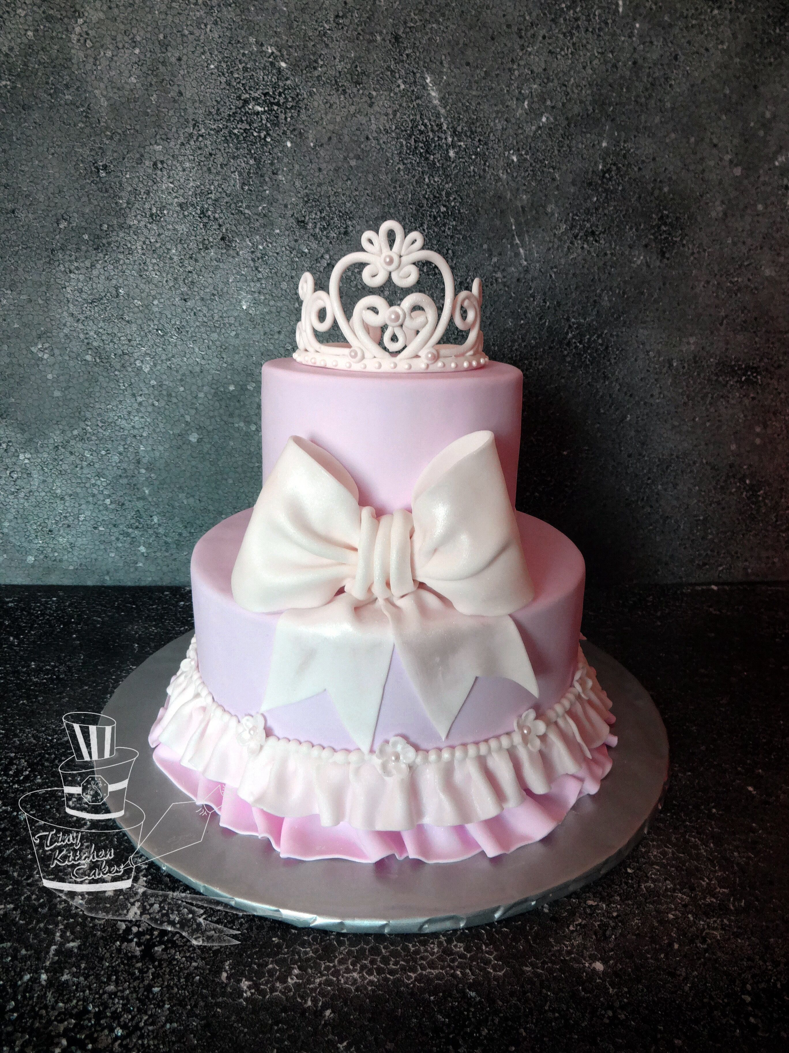 pink princess baby shower cake princess xaria dunbar pinterest