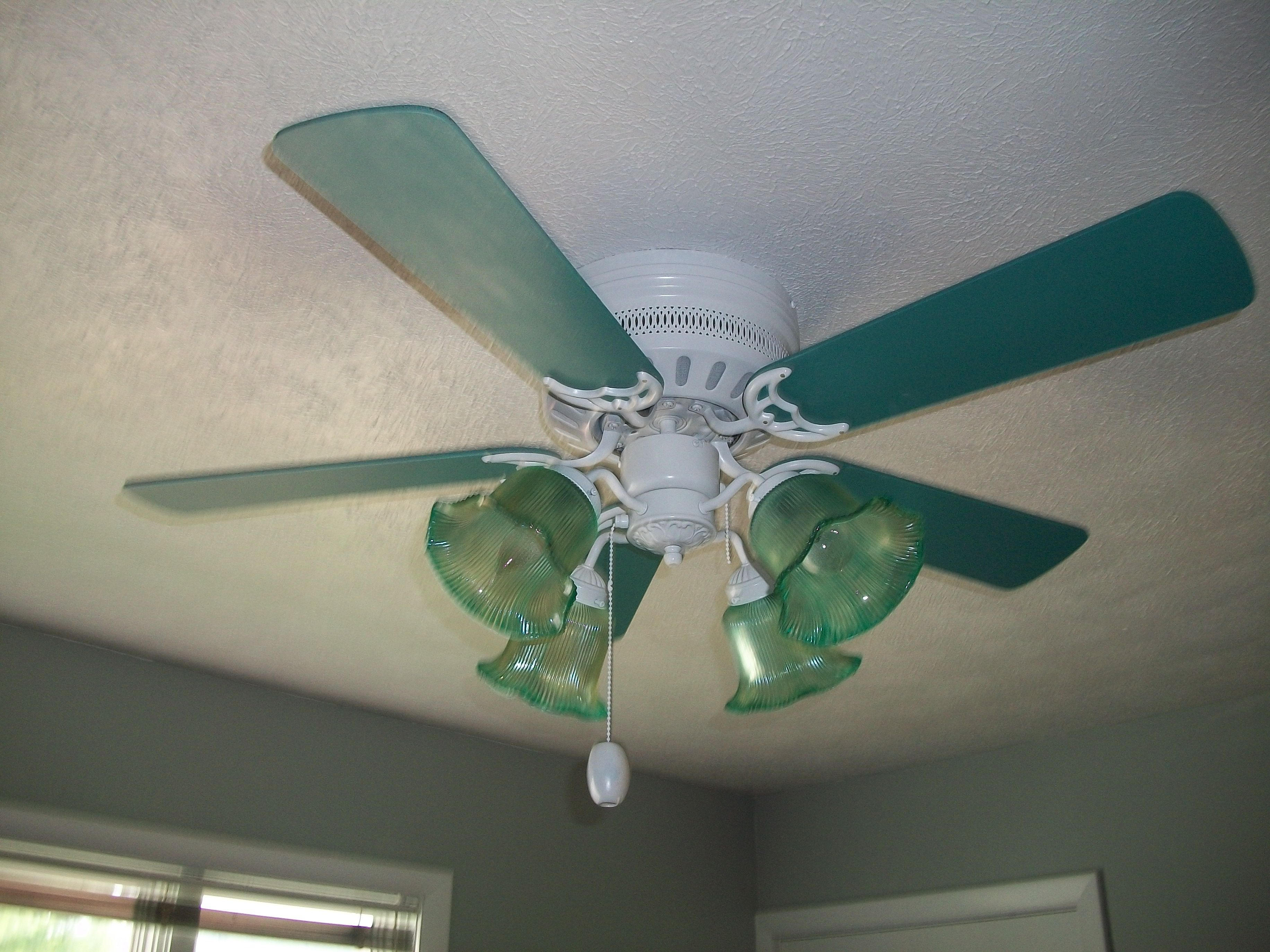 Redone ceiling fan redesigned pinterest for Repurpose ceiling fan motor
