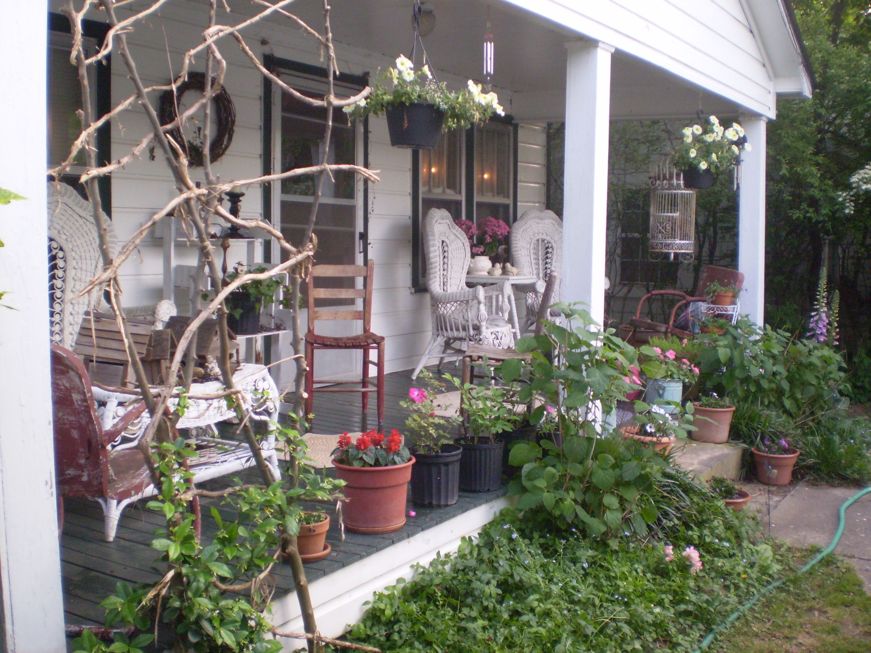 country porch outside decorating pinterest
