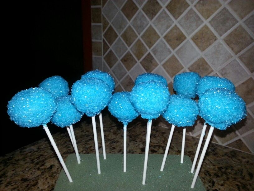 Images Of Frozen Cake Pops :
