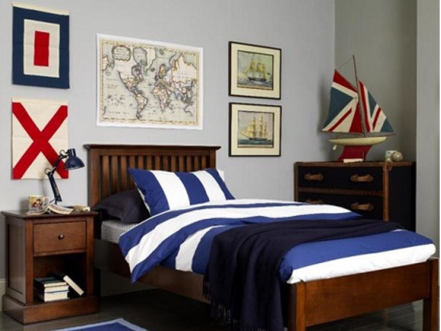 Nautical Bedroom Decorating Pinterest