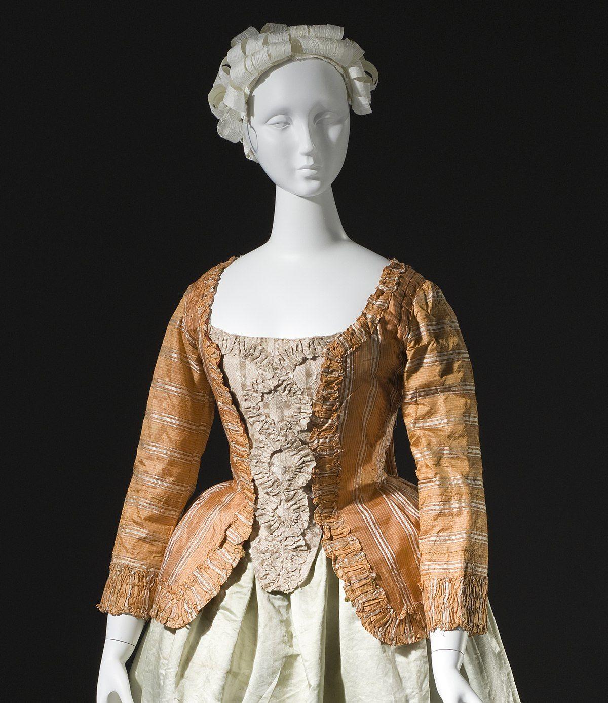M: Dress in Eighteenth 18th century european fashion