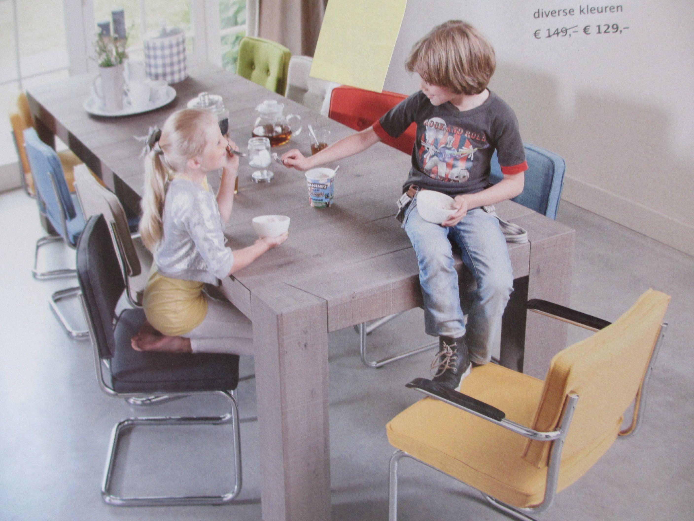 Gekleurde eetkamerstoelen  Tables & Chairs  Pinterest