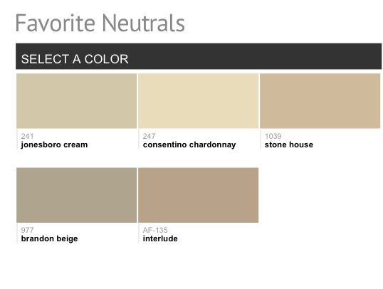 Benjamin moore favorite neutrals for the home pinterest for Benjamin moore most popular neutrals