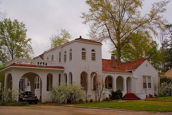 Porte cochere spanish house pinterest for What is a porte cochere