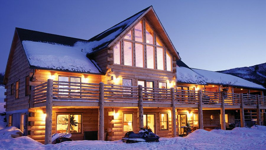 Log Style Homes For Sale