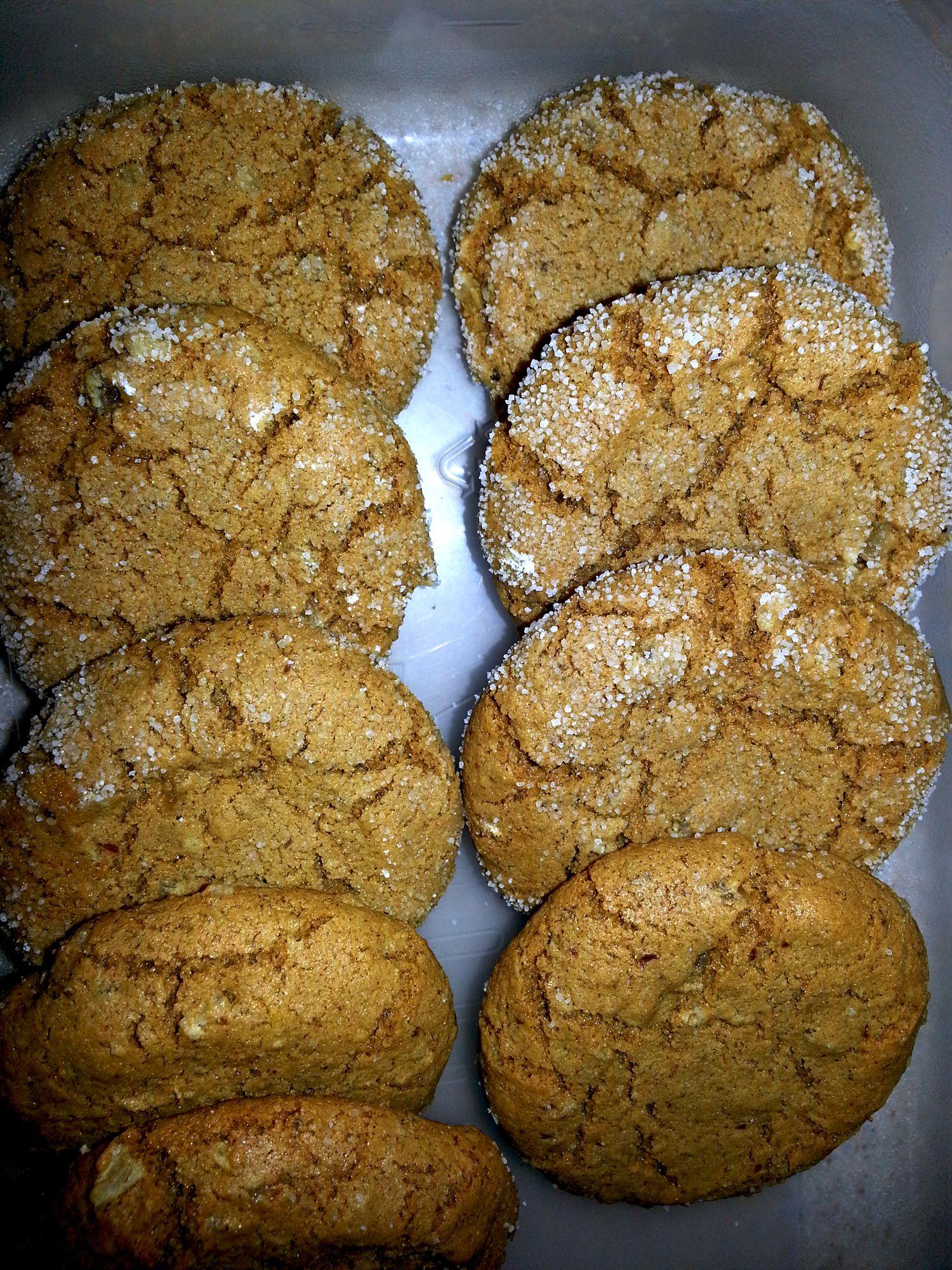 My gluten free ginger snap cookie ♥ | AAA Dump | Pinterest