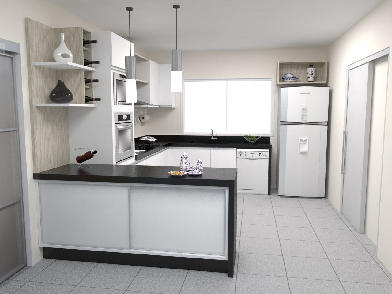 Cozinha E Sala Conjugada Casa Pro Pelautscom Picture Car Interior  #6E675D 1280 960