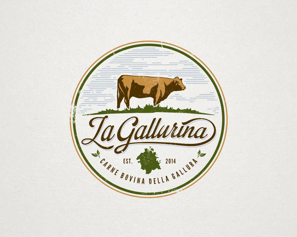 Beef cattle logo designs